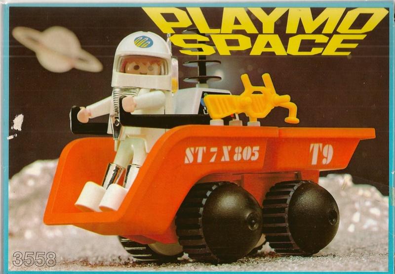 Playmobil thème Espace - Playmo Space - Playmospace 3558a10