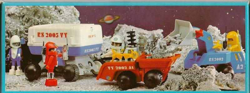 Playmobil thème Espace - Playmo Space - Playmospace 3558d10