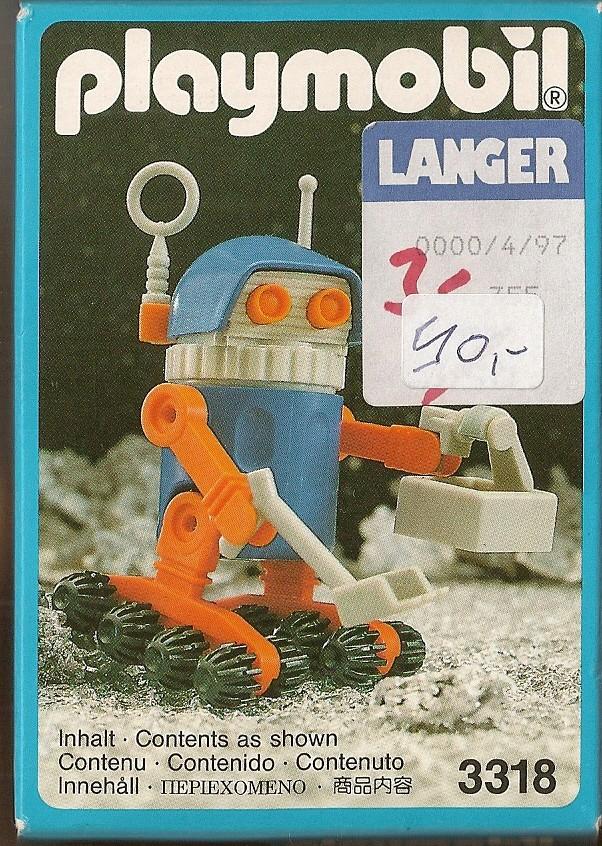 Playmobil thème Espace - Playmo Space - Playmospace Scanne14