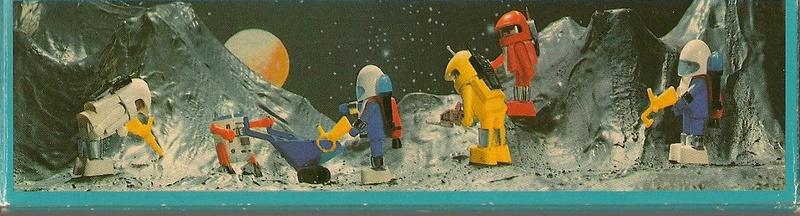 Playmobil thème Espace - Playmo Space - Playmospace Scanne15