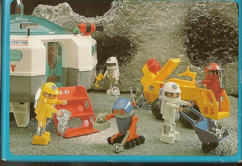 Playmobil thème Espace - Playmo Space - Playmospace Scanne21