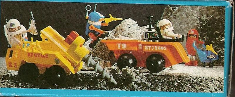 Playmobil thème Espace - Playmo Space - Playmospace Scanne22