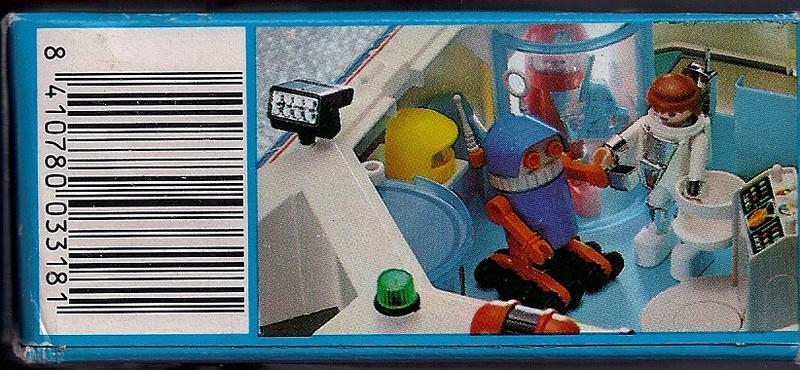 Playmobil thème Espace - Playmo Space - Playmospace Scanne23