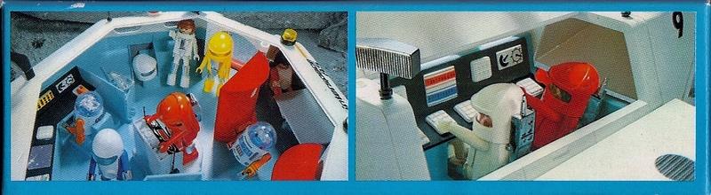 Playmobil thème Espace - Playmo Space - Playmospace Scanne26