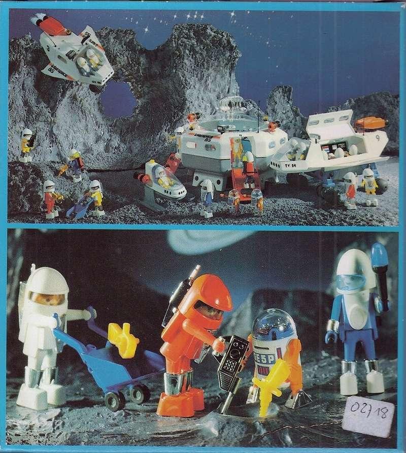 Playmobil thème Espace - Playmo Space - Playmospace Scanne27