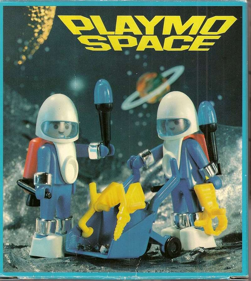 Playmobil thème Espace - Playmo Space - Playmospace Scanne29