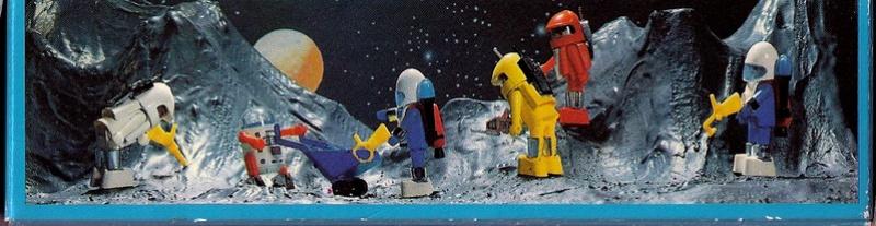 Playmobil thème Espace - Playmo Space - Playmospace Scanne30