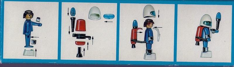 Playmobil thème Espace - Playmo Space - Playmospace Scanne31