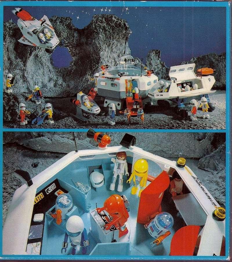 Playmobil thème Espace - Playmo Space - Playmospace Scanne32
