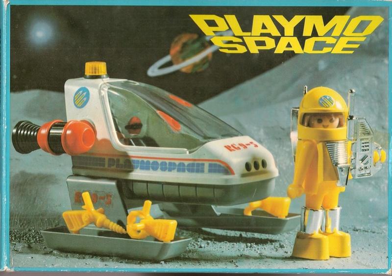 Playmobil thème Espace - Playmo Space - Playmospace Scanne33