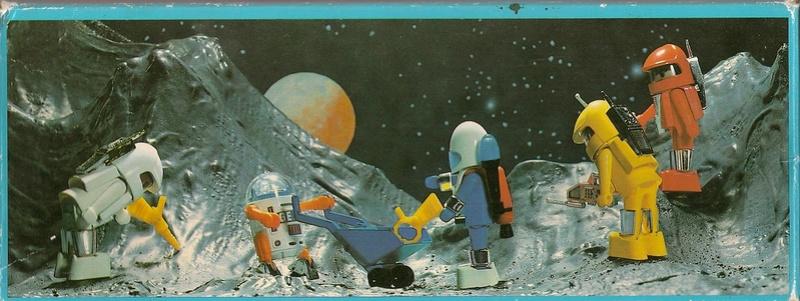 Playmobil thème Espace - Playmo Space - Playmospace Scanne34