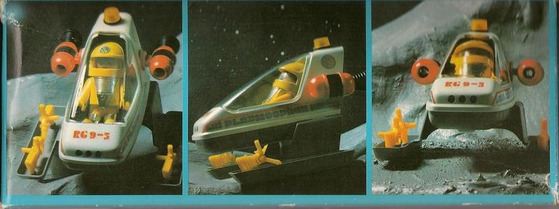 Playmobil thème Espace - Playmo Space - Playmospace Scanne35