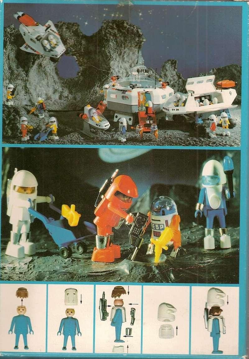 Playmobil thème Espace - Playmo Space - Playmospace Scanne36