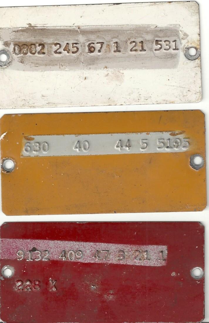 Plaque aluminium Numyri18