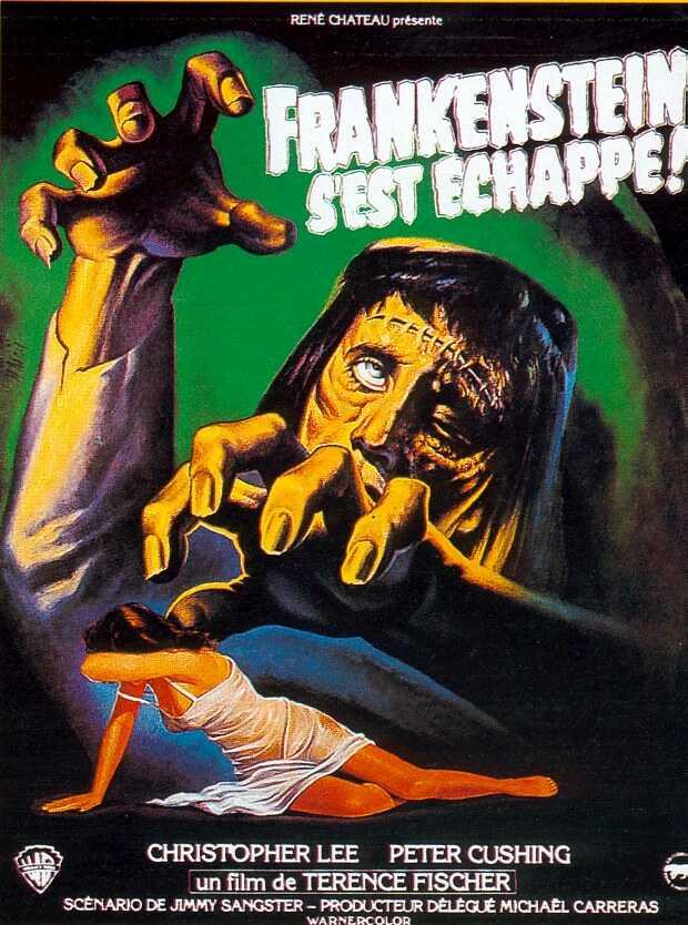 Frankenstein s'est échappé (The Curse of Frankenstein) Fisher10