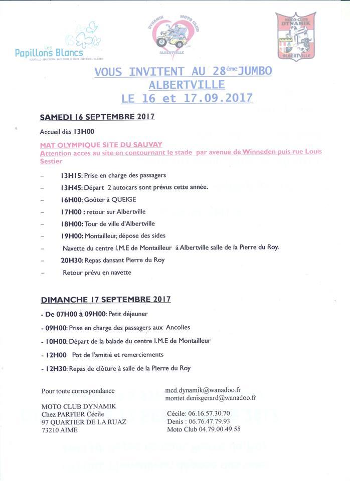 JUMBO D'ALBERTVILLE (73)  les 16 et 17 septembre 2017 Albert10