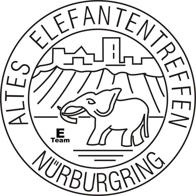 ALTES ELEFANTENTREFFEN  circuit du NURBURGRING (Allemagne) du 09 au 11 février 2018 Logo_e11