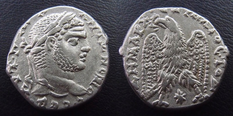 Tétradrachme Caracalla 16876r10