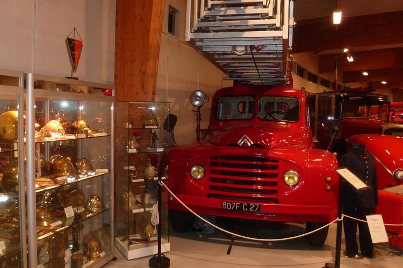 Le musée des Sapeurs Pompiers de Montville 00410