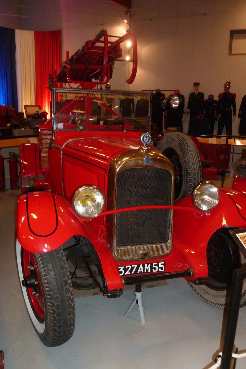 Le musée des Sapeurs Pompiers de Montville 01512
