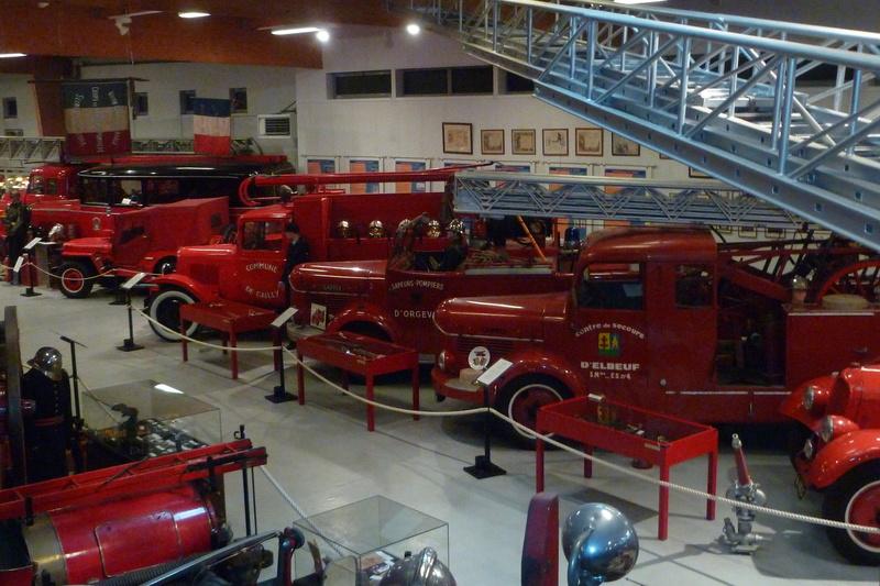 Musée des pompiers de MONTVILLE (76) 01810