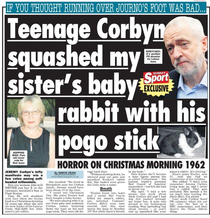 """Do you agree with David Puttnam that """"the media have a duty to inform and not inflame""""? Corbyn10"""