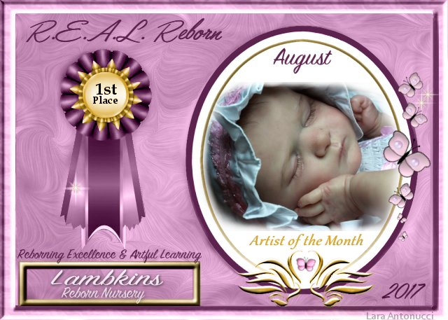 2017 AOTM AUGUST Contest Winner Logo - Susan of Lambkins Nursery August10