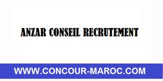 مؤسسة ANZAR CONSEIL : توظيف 27 موظف مكتب و موظف ترقيم و فهرسة الوثائق الادارية بمدينة فاس  Anzar_10