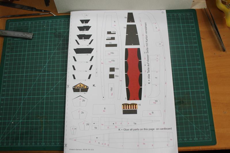 Venezianische Gondel gebaut von E-Maat Img_3311