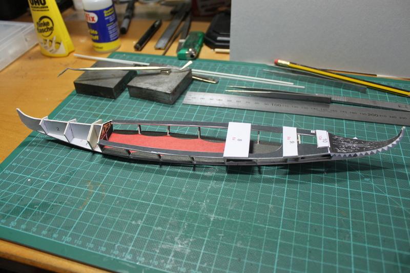 Venezianische Gondel gebaut von E-Maat Img_3317