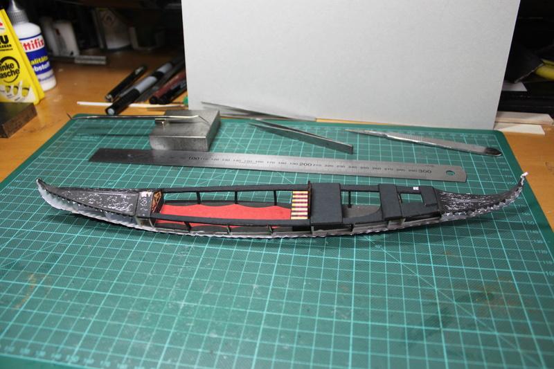 Venezianische Gondel gebaut von E-Maat Img_3318