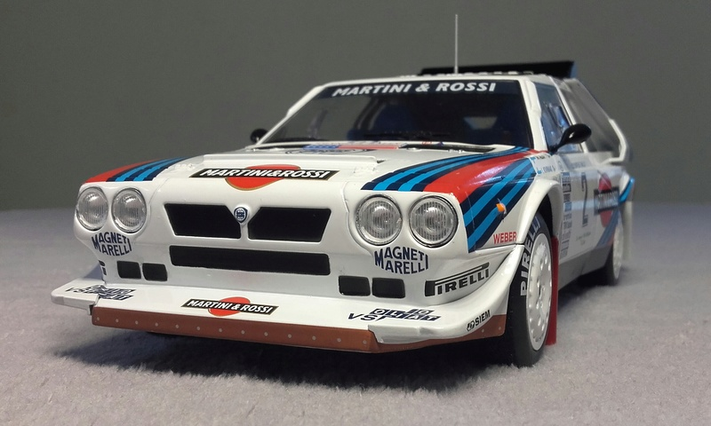 Delta S4 Groupe B Rallye Olympus 1986 20170919