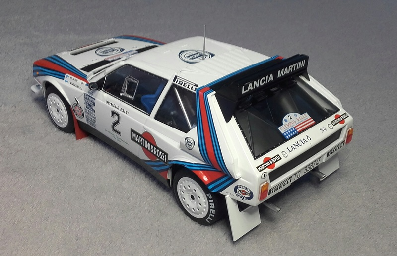 Delta S4 Groupe B Rallye Olympus 1986 20170921