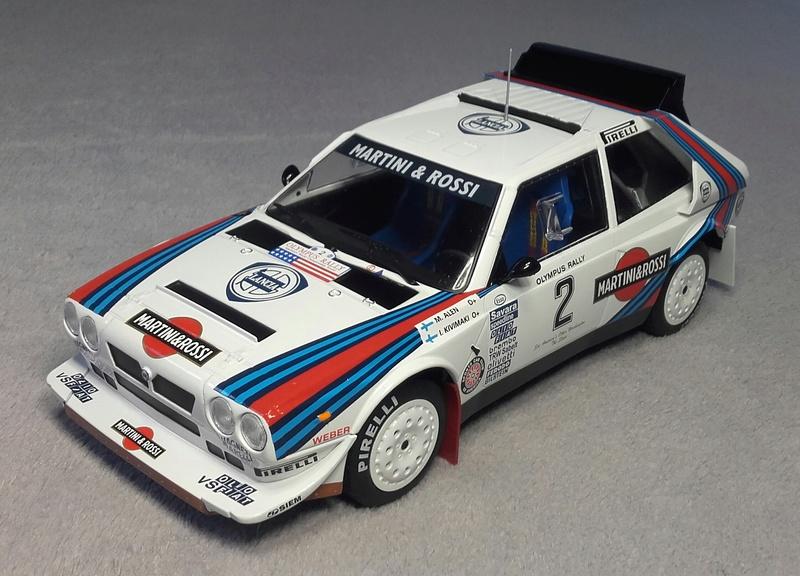 Delta S4 Groupe B Rallye Olympus 1986 20170923