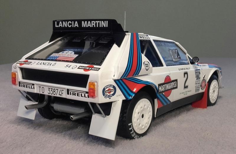 Delta S4 Groupe B Rallye Olympus 1986 20170924