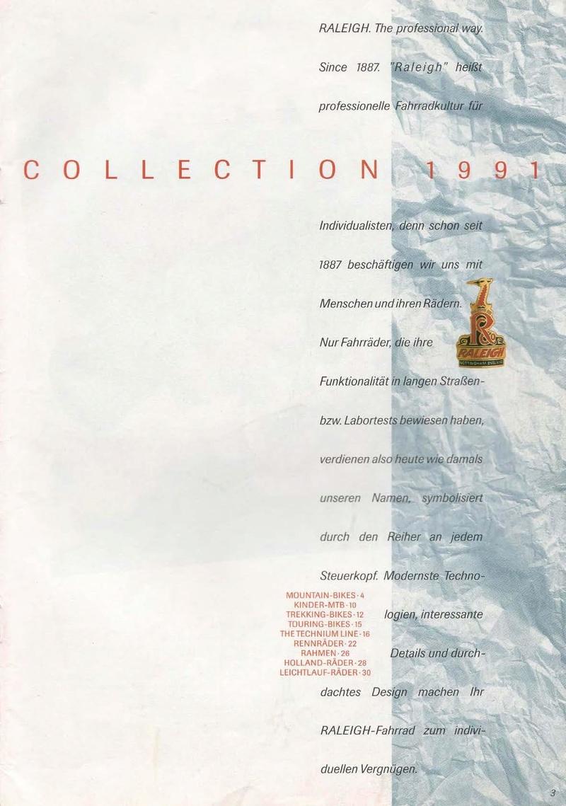 raleigh - Catalogue Raleigh Collection 1991 Raleig35