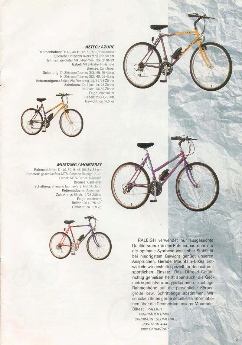raleigh - Catalogue Raleigh Collection 1991 Raleig41