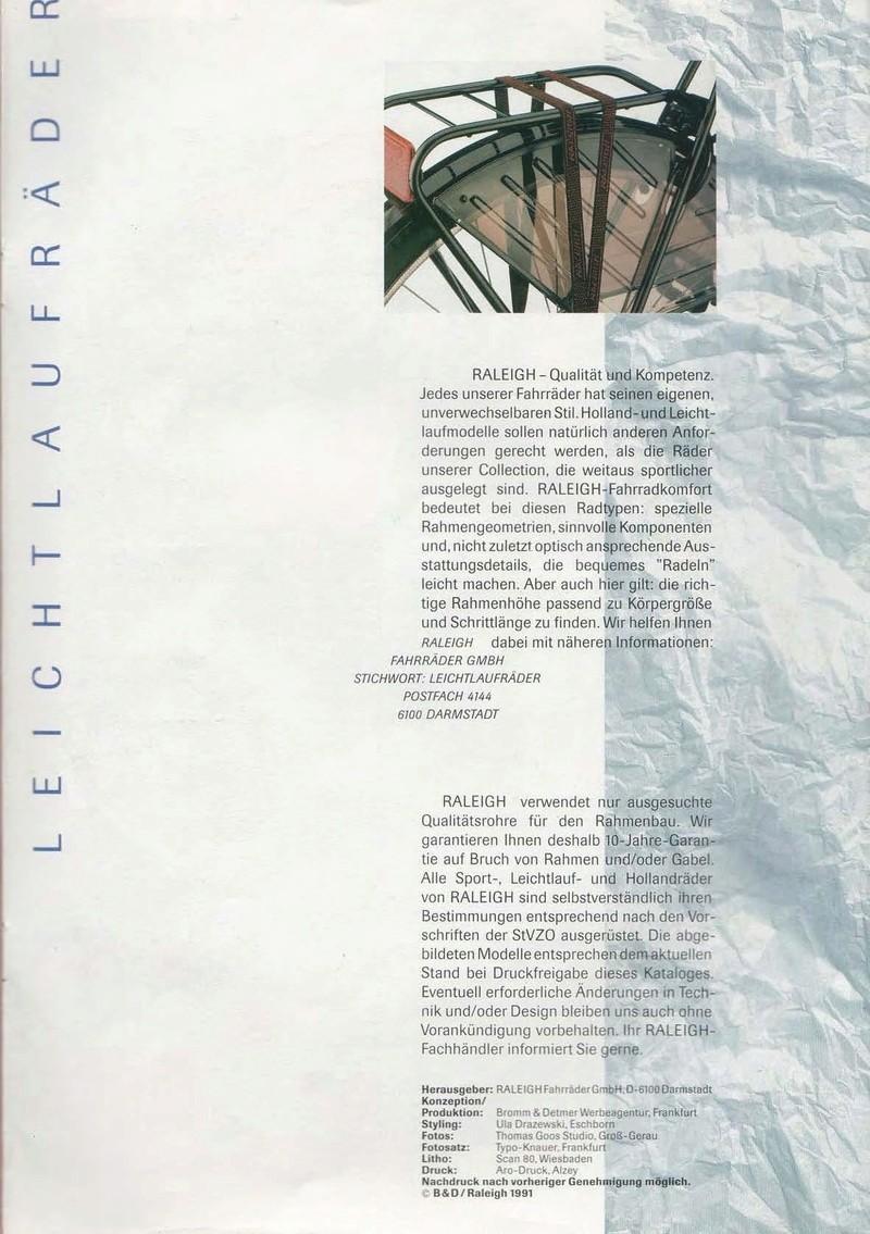 raleigh - Catalogue Raleigh Collection 1991 Raleig61