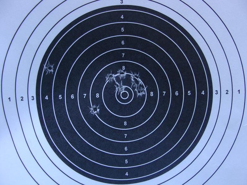 premiers tirs avec BSA 8 Dsc07020