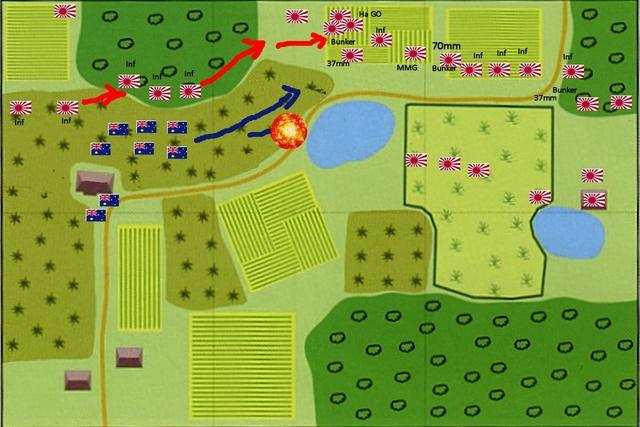 Opération cannibal Blitzkrieg Birmanie Carte410