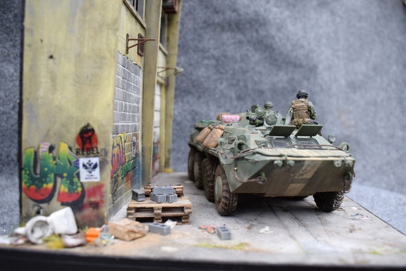 BTR80 - Ukraine 2015 Dioram14