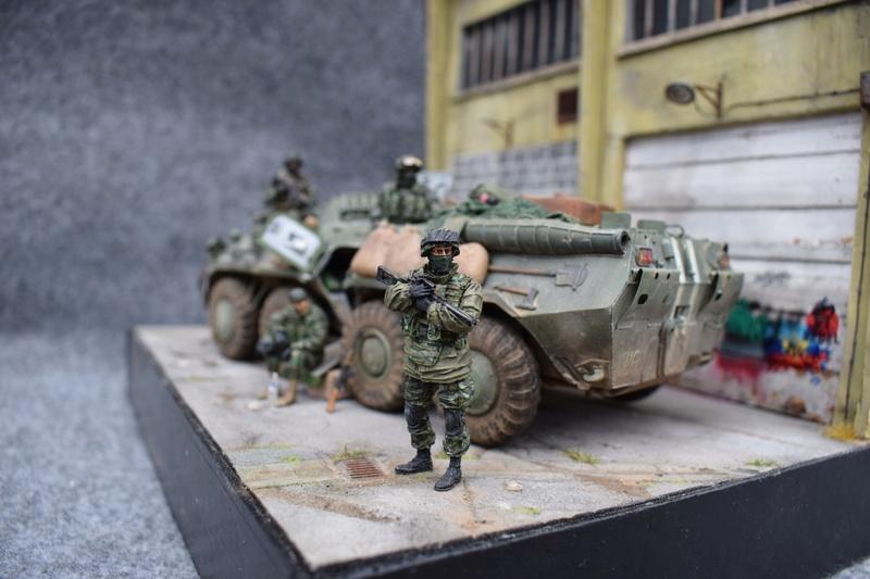 BTR80 - Ukraine 2015 Dioram16