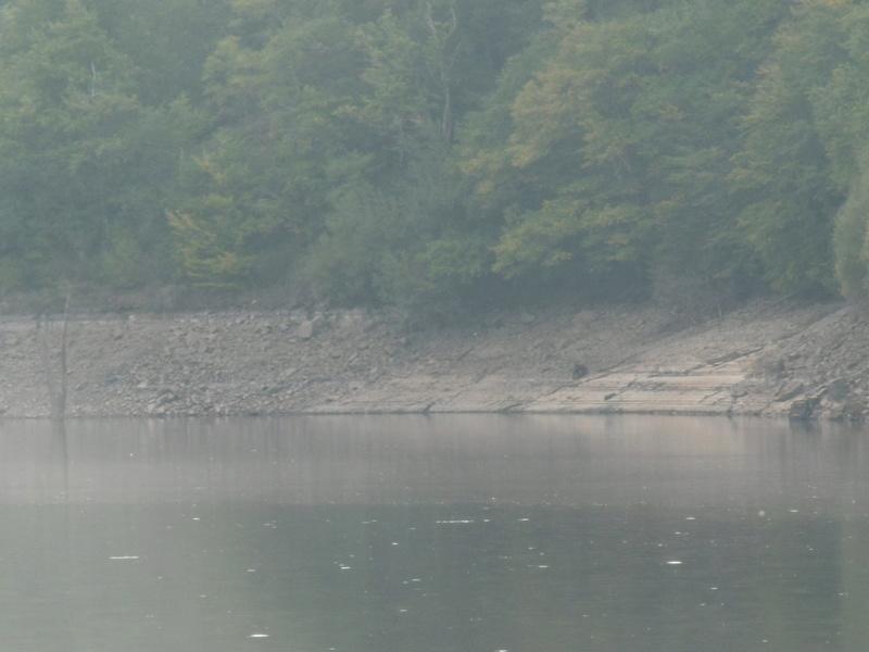 Lac à moins 8 mètres en 2017  P1000623