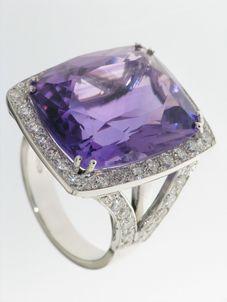 Création à la main anneau panier Anello10