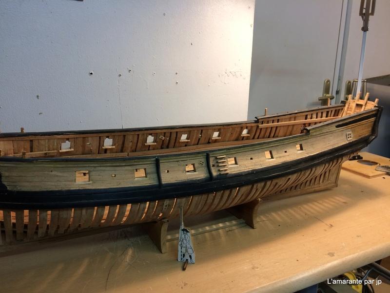 l'amarante corvette de 1747  sur plan de Mr Delacroix  - Page 10 Img_0710