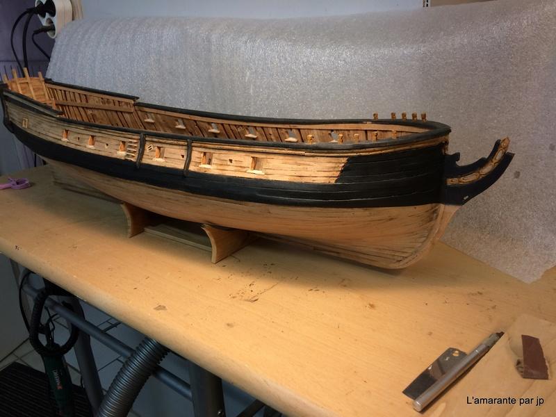 l'amarante corvette de 1747  sur plan de Mr Delacroix  - Page 10 Img_0711