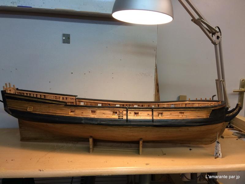l'amarante corvette de 1747  sur plan de Mr Delacroix  - Page 10 Img_0712