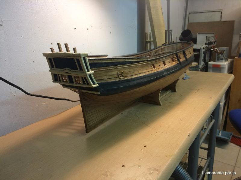 l'amarante corvette de 1747  sur plan de Mr Delacroix  - Page 10 Img_0810