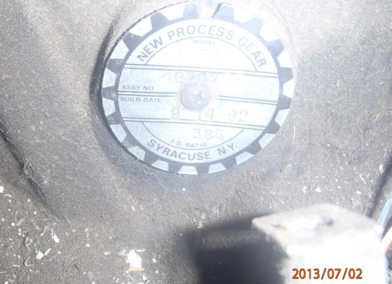 Carter de boîte manuelle cassé sur voyager s3 TD 2000 Boite_10