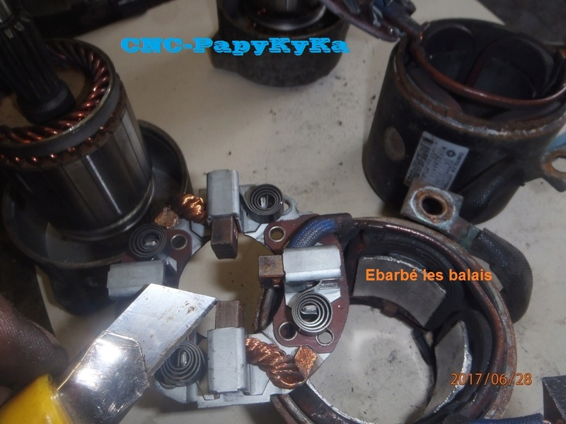 PapyKy, remet en état deux démareur pour S4 CRD. P6280010